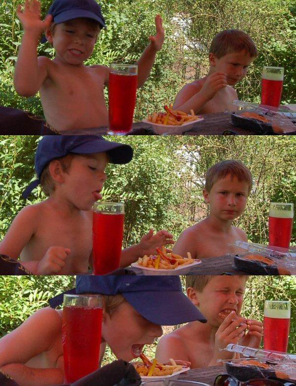 Oblíbenou destinací je bufáč na jednom z jezů. Děti se zde mohou ráchat v laguně vyhřáté vody, dospělí zase konzumaci nápojů a nezávazné společenské konverzaci. Vítek zde vsadil na jistotu, dal si hranolky a jejich konzumaci doprovodil pěkným výstupem komediálníhop typu :-)